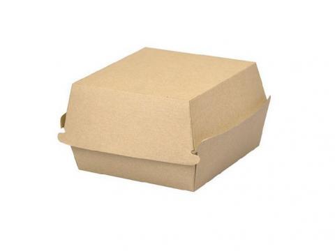 Bio burger papier kraft 115x105